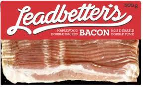 LEADBETTER PEAMEAL SLICED BACON 500 G