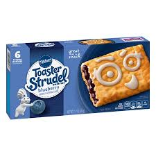 PILLSBURY BLUEBERRY TOASTER ST 326GR.
