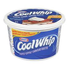 Cool Whip Whipped Topping Orig 1L