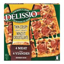 DELISSIO TC FOUR MEAT PIZZA 605 G