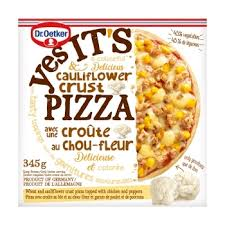 OETKER YES IT'S PIZZA CAULIFLOWER CRUST 345 GR