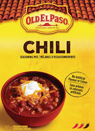Old El Paso Chili Seasoning 24 G