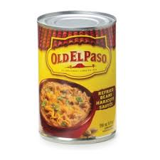 OLD EL PASO REFRIED BEANS 398ML.