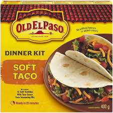 OLD EL PASO SOFT TACO DINNER KIT 340 G