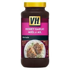 VH HONEY GARLIC SPARE RIB SAU 341ML.