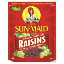 Sunmaid California Raisins 375 G