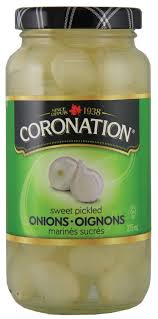 Coronation Sweet Pickled Onions 375 Ml.