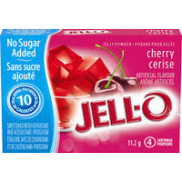 Jello Light Cherry Jelly Powde 4Serv