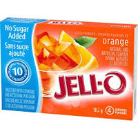 Jello Light Orange Jelly Powde 4Serv