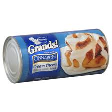 PILLSBURY GRAND CINNABON CREAM CHEESE FLAVORED ICING 496 G