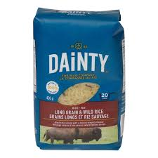Dainty Long Grain & Wild Rice 450 G