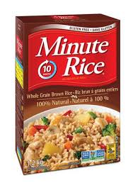 Minute Rice Whole Grain Brown Rice 1.2 Kg