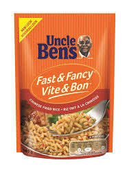 Uncle Bens Chinese Rice Fast & Fancy 132g