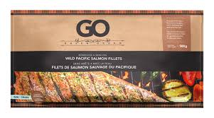 GREEN OCEAN WILD PACIFIC SALMON FILLETS 500 G