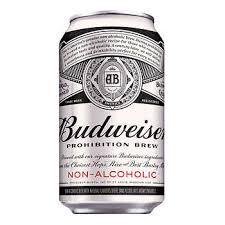 Budweiser Non Alcoholic Beer Can	6 X 355 Ml