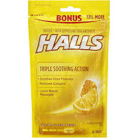 Halls Honey Lemon Drops 40pk