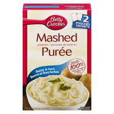 Betty Crocker Butter/Herb Mashed Potato 215Gr.