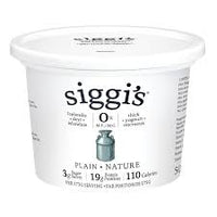Siggi's Yogurt, Plain 500g