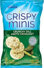 Quaker Crispy Mini, Dill Pickle 100g
