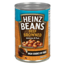 HEINZ MOLASSES BEANS WITH PORK 398ML