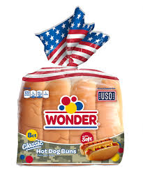WONDER HOT DOG ROLLS 8 PACK