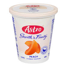 Astro Smooth & Fruity, Peach 650g