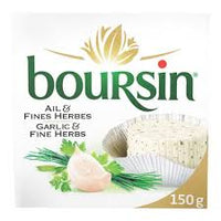 Boursin Garlic & Fine Herbs Cheese 150g