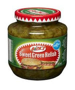 Bicks Sweet Green Relish Cubit 375 Ml.