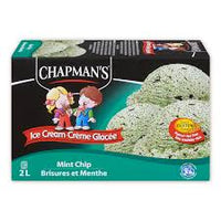 Chapmans Mint Chip  Ice Cream 2L