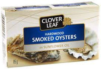 Cloverleaf Smoked Oysters 85g