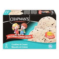 Chapmans Cookies N Cream Ice Cream 2L