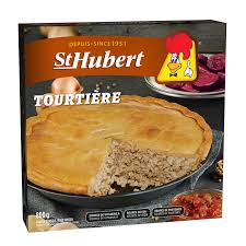 St. Hubert Frozen Tourtiere 800 G
