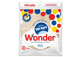 WONDER WRAPS WHITE 10INCH 10 PACK