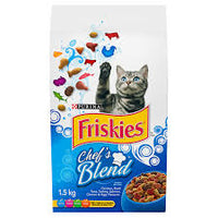 Friskies Chefs Blend Dry Cat 1.5Kg