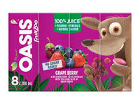 Oasis Fruit Zoo Grape	8X200Ml