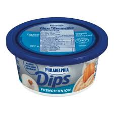 Philadelphia French Onion 227 G