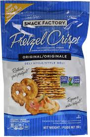 SNACK FACTORY PRETZEL ORIGINAL	200 GR