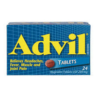 Advil Tablets Regular Strength 24 Pk