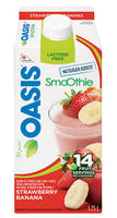 Oasis Smoothie Strawberry Banana 1.75 L