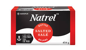 NATREL SALTED BUTTER 454 G
