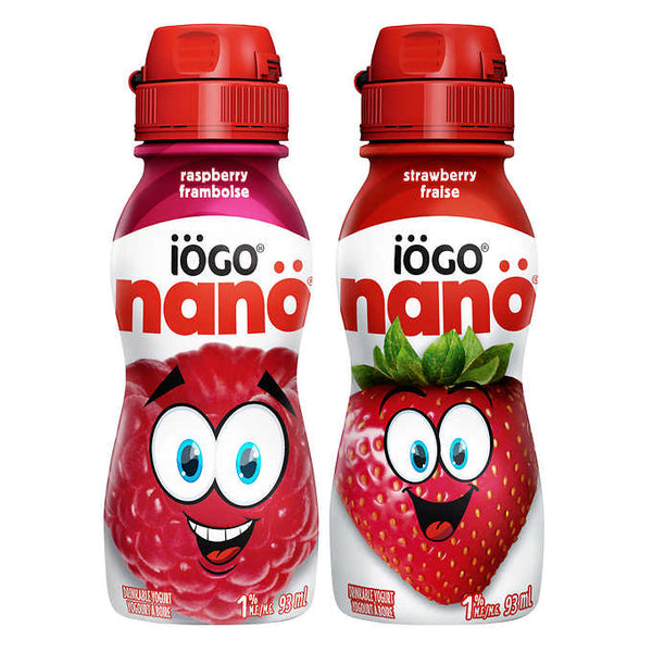 IOGO Nano Drinkable Yogurt 24 x 93 mL