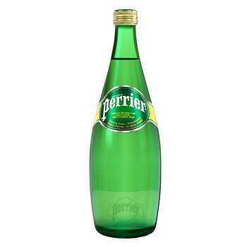 PERRIER NATURAL SPRING WATER	750ML.