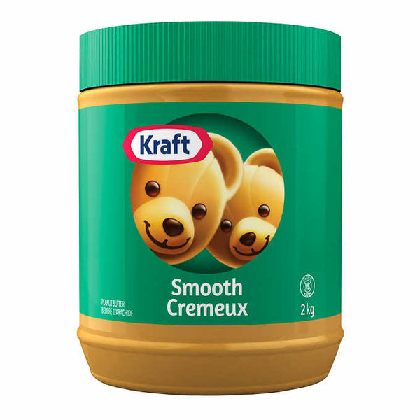 Kraft Smooth Peanut Butter	2Kg