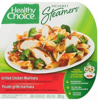 Healthy Choice Gourmet Steamers Grilled Chicken Marinara Frozen Dinner 284 g