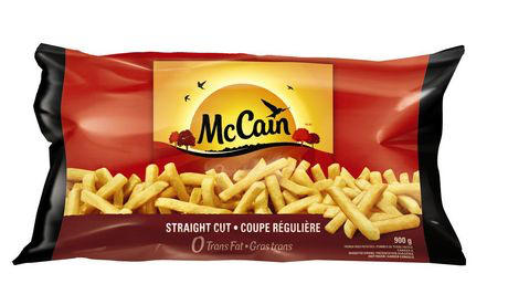 McCain Straight Cut Fries 900 g