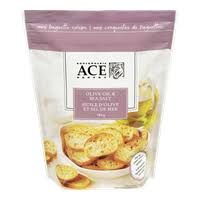 ACE Baguette Crisps, Olive Oil & Sea Salt 180g