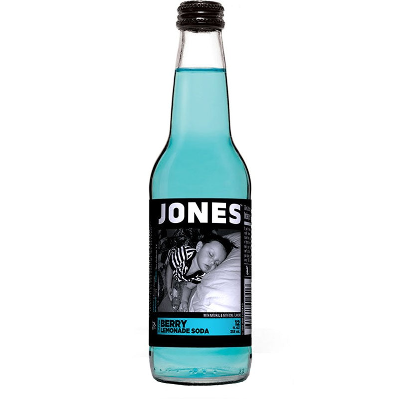 JONES SODA BERRY LEMONADE 355 ML