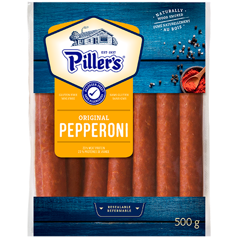 PILLERS PEPPERONI STICKS 500  G