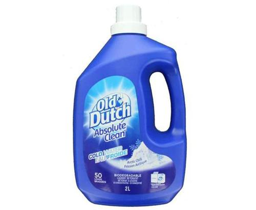 OLD DUTCH LAUNDRY COLDWATER 50 LOADS 2 L