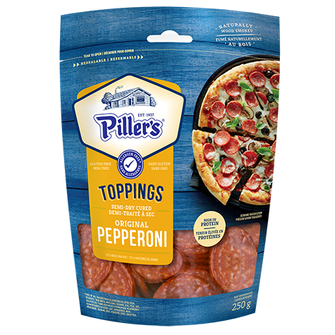 PILLERS PEPPERONI TOPPINGS 250  G